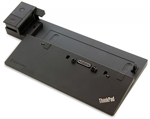 Lenovo ThinkPad PRO Dock Black - Notebook Docks & Port replicators (Docking, 10,100 Mbit/s, Black, Kensington)