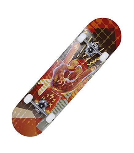 HHXWU Skateboard Flaschenzug Kind Skateboard Allrad Skateboard Vibrationsplatte Rock