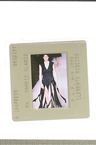slides-photo-of-a-model-represents-clements-ribeiros-design-during-a-fashion-show-in-1998