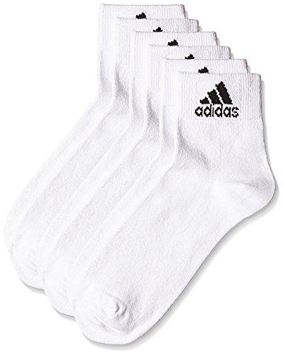 adidas-AD2485-Flat-Knit-Ankle-Socks-Mens-Pack-of-3-Size-2238-BlackGrey-MelangeNavy