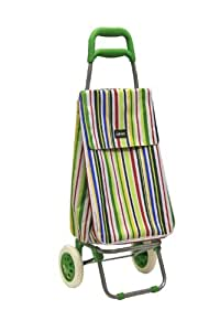 Sabichi Bright Stripe Shopping Trolley