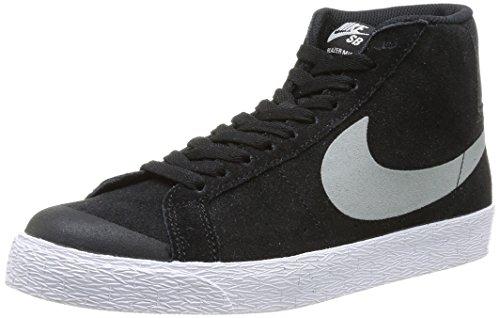 Nike Blazer SB Premium SE, Herren Sneaker, Mehrfarbig (BLACK/BASE GREY-WHITE), EU 44 EUR