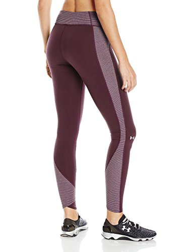 Under armour pantalon de fitness pour femme à rayures et short cG collant inset Rouge - Oxb/Msv