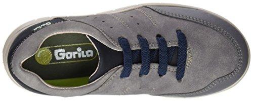 Gorila 43004, chaussures Derby mixte enfant Gris