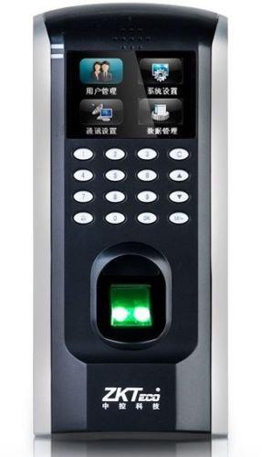 ZK F7TCP/IP Tastatur biometrischer Fingerabdruck Teilnahme Zeit Uhr Access Control (Tastatur Biometrische)