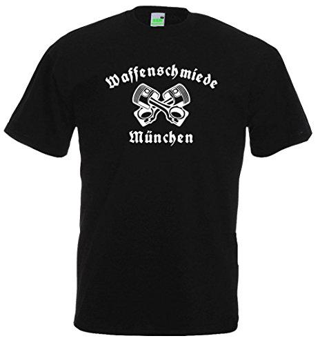 T-Shirt | Waffenschmiede München Schwarz