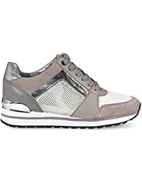 ZAPATILLAS BILLIE TRAINER GRIS/PLATEADA MICHAEL KORS