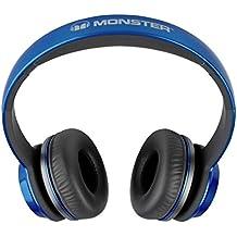 Monster 128452 - Auriculares de diadema abiertos, azul (cobalt azul)