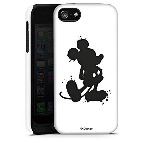 Apple iPhone X Silikon Hülle Case Schutzhülle Disney Mickey Mouse Geschenke Tough Case matt