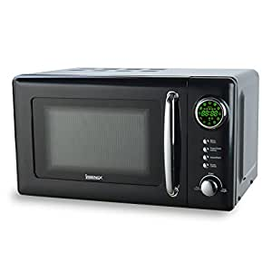 Igenix IG2031 Digital Microwave, 700 W, 20 L - Black