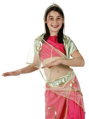Costume Danzatrice Araba Rosa. Costumi Bambino 3/4 anni