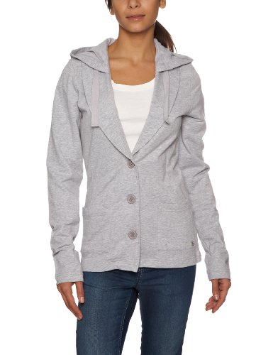 Bench Damen Strickjacke Gr. X-Small, Grau - Grau (Grey Marl)