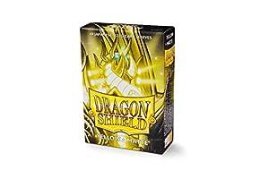Arcane Tinmen ApS ART11114 - Juego de Cartas (60), diseño de dragón, Color Amarillo Mate