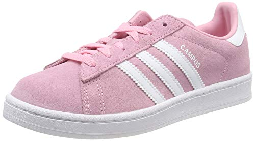 adidas Unisex-Kinder Campus C Fitnessschuhe, Pink (Rosa 000), 31 EU (Rosa Sneaker Kinder)