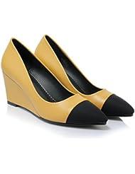 W&LM Bouche superficielle Pointu Aide faible Chaussures individuelles Chaussures Talons hauts des dames