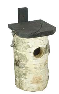 Elmato 10109 Staren-Nistkobel rund, mit Dachöffnung