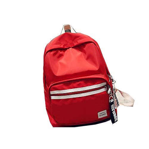 Art- und Weisereiserucksack-Schultaschenkinder Heller Reiserucksack rot 30 * 13 * 37