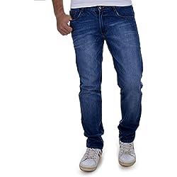 Ben Martin Men's Regular Fit Denim Jeans (BMW-JJ3-DARK-p4-38, Dark Blue)