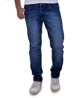 Ben Martin Men's Relaxed Fit Jeans (BMW-JJ3-DARK-p4-28_Dark Blue_28)