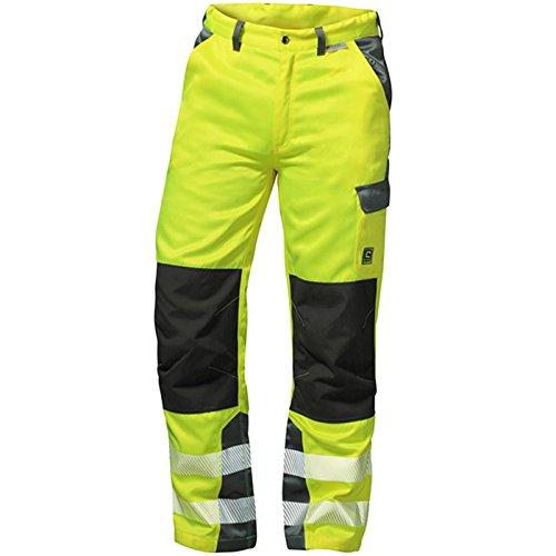 """Preisvergleich Produktbild Elysee Warnschutz Bundhose """"Paris"""" Größe, 1 Stück, 54, gelb/grau, 22728-54"""
