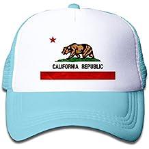 keiopo juventud California República de malla Trucker Caps–ajustable sombreros