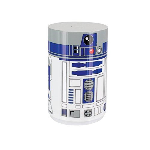 41upAx5qiXL - Star Wars R2 D2 - Mini luz con sonido, multicolor