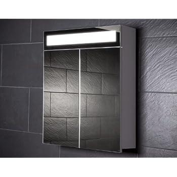Spiegelschrank holz weiß  Galdem EVEN60 Spiegelschrank, holz, 60 x 65 x 15 cm, weiß: Amazon ...