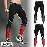 Fitness Leggings Patchwork Stretchy Yogahosen Gymnastik Workout Strumpfhosen Kleidung Atmungsaktive Sporthose Bodybuilding Kompression der Männer 3D Druck Tragen Übung Kleidung Training Cropp