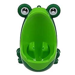 SODIAL(R) Toilette Baby Jungen Kinder Kleinkind Toepfchen-Training Pee Trainer Mini Toilette(Frosch Gruen)
