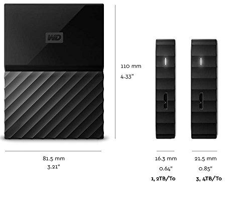WD WDBYNN0010BRD-WESN 1TB External Hard Disk (Red)
