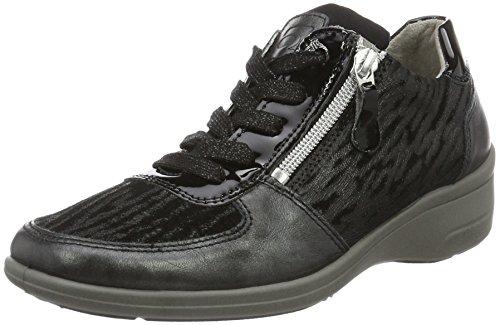Rohde Damen Bremen Sneakers Schwarz (Schwarz 90)