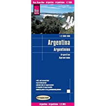Reise Know-How Landkarte Argentinien (1:2.000.000): world mapping project
