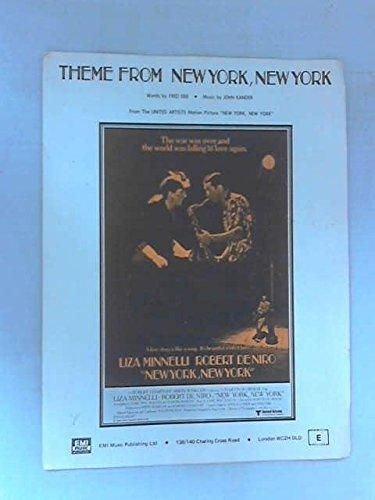 IMP NEW YORK NEW YORK THEME - PVG Noten Pop, Rock, .... Klavier Gesang - Publishing Music Emi