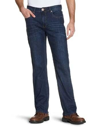 H.I.S Jeans Herren Straight Leg Jeans Stanton, Gr. 44/L30 (Herstellergröße: 30/30), Blau (blue stretch w4002)