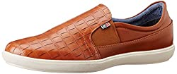 Arrow Mens Tan Loafers and Moccasins - 9 UK/India (43 EU)