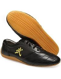 Artes marciales de la ZOOBOO Hombres Calzado Zapato de desgaste de la práctica de Kung Fu Tai Chi zapatos, hombre, azul