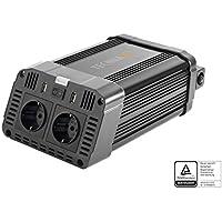 Technaxx 4753 Wechselrichter 1200W TE16 TÜV Zertifiziert Konverter Strom- Spannungswandler schwarz