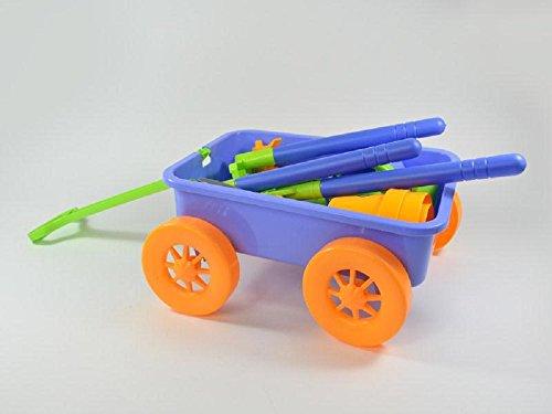 Gartenset für Kinder mit Zugwagen 15-teilig 35x18cm