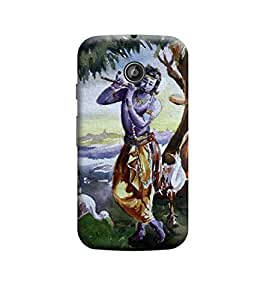 Kratos Premium Back Cover For Motorola Moto E (2nd gen)