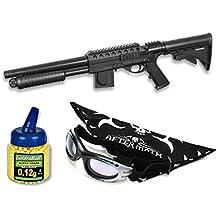 Pack Rifle Airsoft Smith & Wesson. Calibre 6mm. Potencia 0,7 Julios + Gafas antivaho + Biberon 1000 bolas
