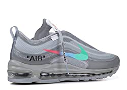 Nike Air Max 97 x Off White - Off White/Menta-Wolf Grey Trainer Size 10 UK