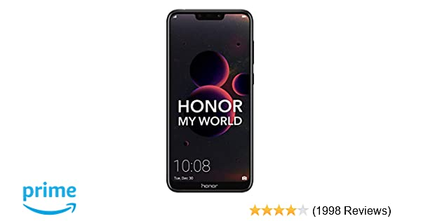 Honor 8C (Black, 4GB RAM, 32GB Storage)
