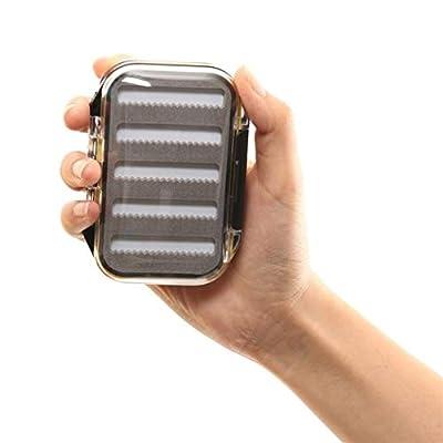 Double Side Waterproof Pocket Fly Fishing Box Slid Foam Insert 170 Flies by Unicoco