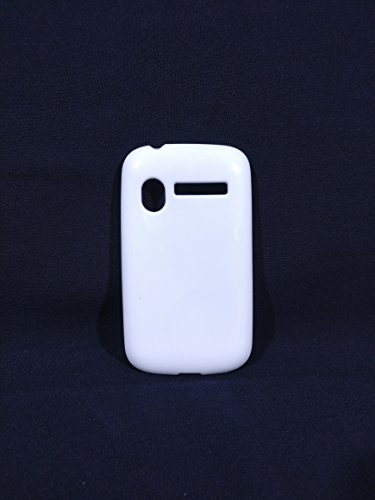 iCandy™ Colorfull Thin Soft TPU Back Cover For Micromax Bolt A27 - White  available at amazon for Rs.109