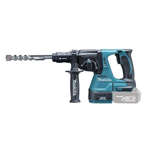 Preisvergleich Produktbild Makita DHR243Z Bohrhammer, SDS +, kabellos, 3 Modi, 18-V-Li-ion-Akku