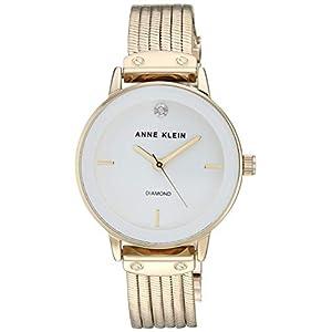 Anne Klein AK/3220 Reloj de Pulsera con Cadena con Detalles de Diamante