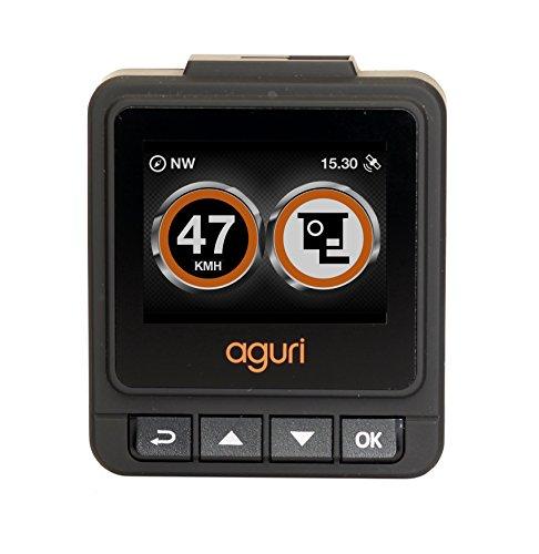 Aguri DX20 Deutsche Ausgabe DVR-Dashcam mit GPS-Radarfallen- und Radarkamera-Warnsystem