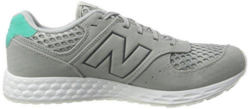 New Balance MFL574 Simili daim Chaussure de Course - grau / türkis / weiß