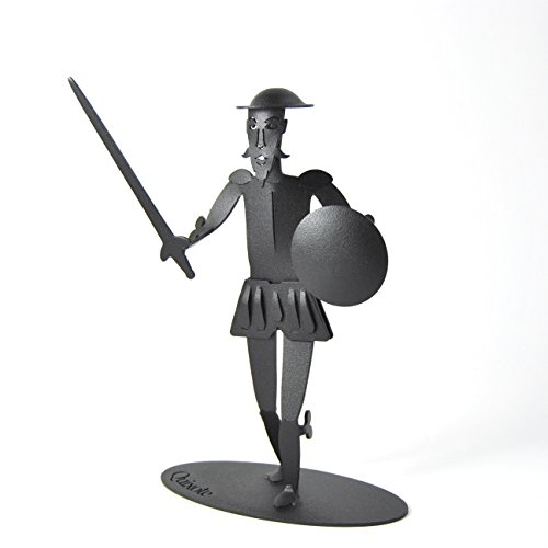 FIGURA DON QUIJOTE DE METAL