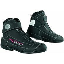 Zapatos Moto Técnica Scoouter Botas Piel Honda Ducati Yamaha Sonic Moto Negro 42